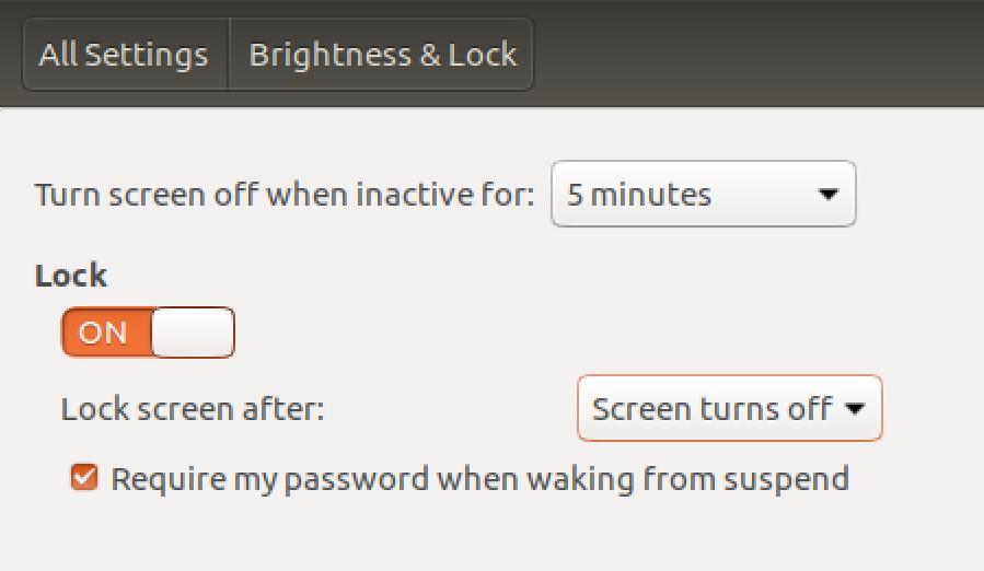 Aktywuj wygaszacz ekranu w Linux