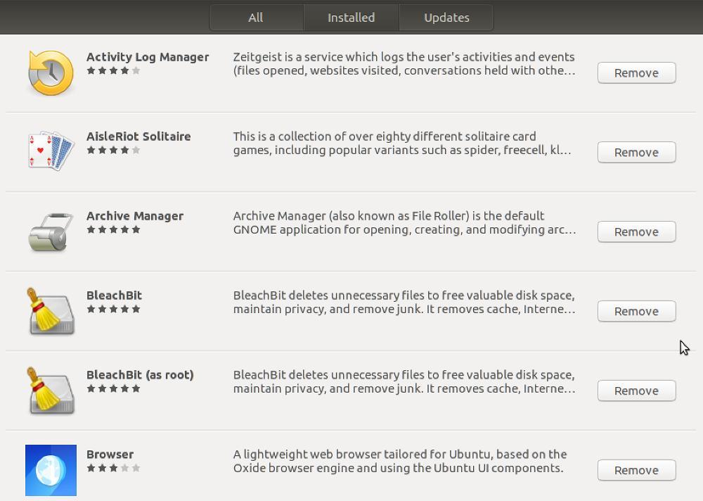 Przejrzyj zainstalowane aplikacje w Linux